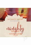 Intimate Earth Natural Flavors Glide Naughty Nectarines 3...