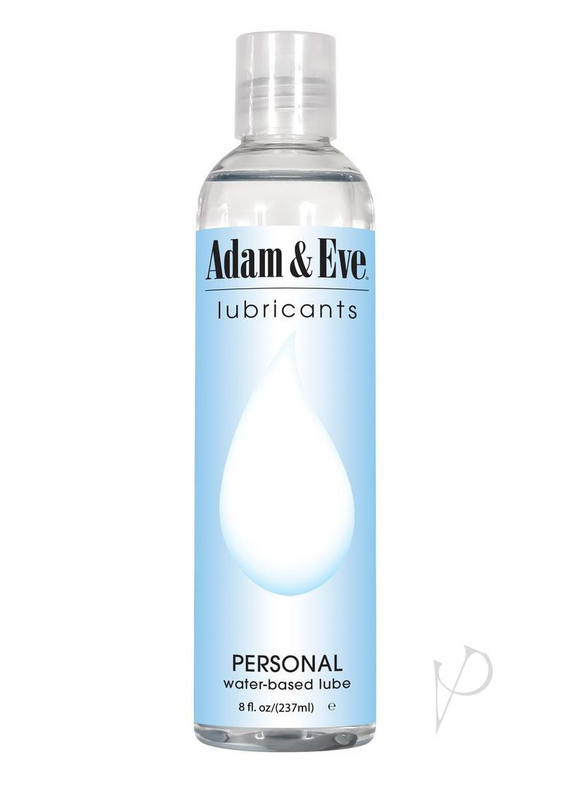 Adam And Eve Personal Water Based Lubricant 8 Ounce
