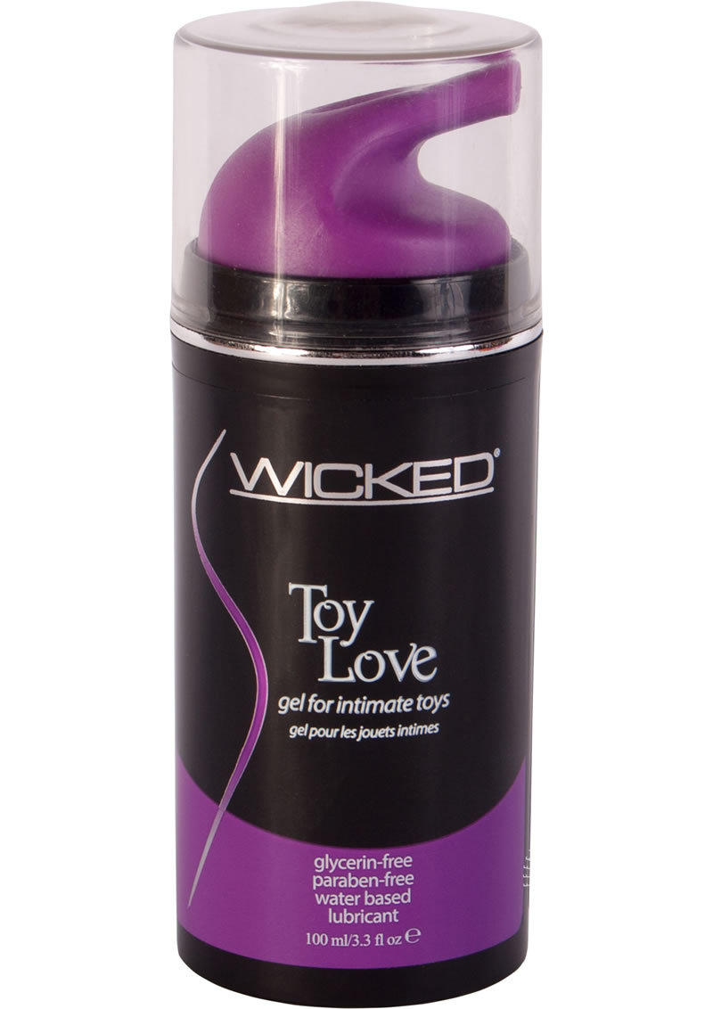 Wicked Toy Love Gel For Intimate Toys 3.3 Ounce