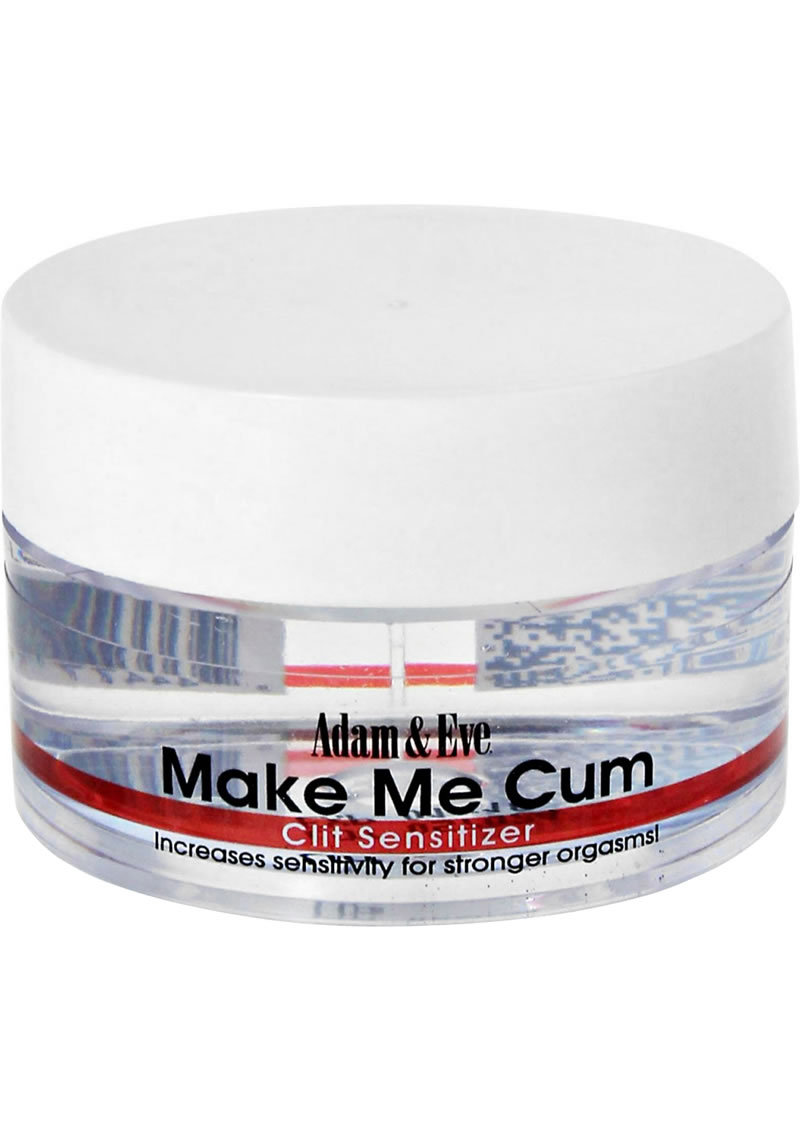 Adam And Eve Make Me Cum Clit Sensitizer Cream .50 Ounce